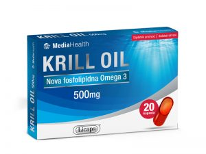 KRILL OIL - 20 kapsula