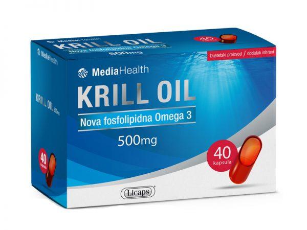 KRILL OIL - 40 kapsula